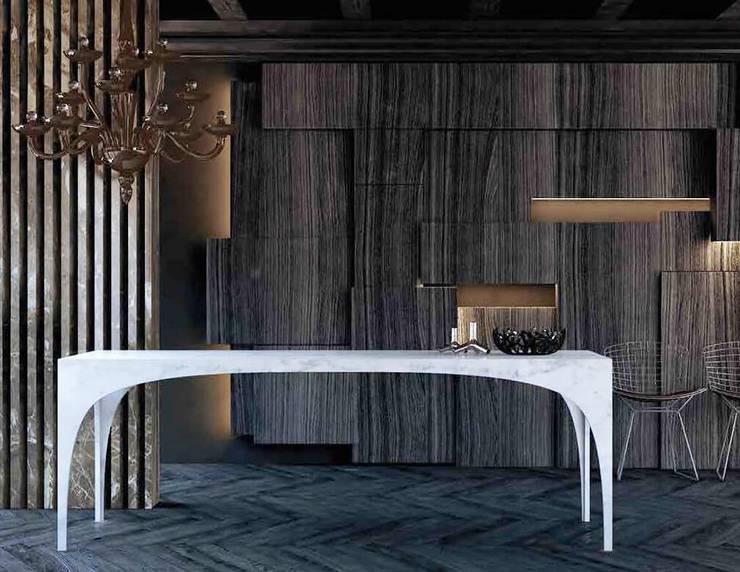 MGM家具意大利大理石戶外家具,現代高端品質家具:  客廳 by 北京恒邦信大国际贸易有限公司