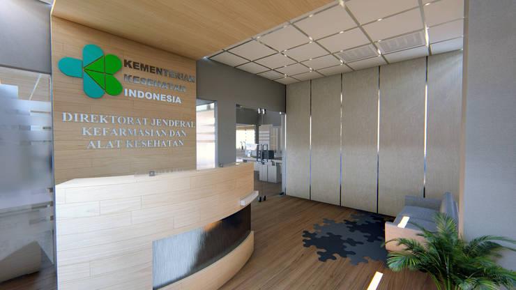 KEMENKES OFFICE:  Ruang Kerja by IFAL arch