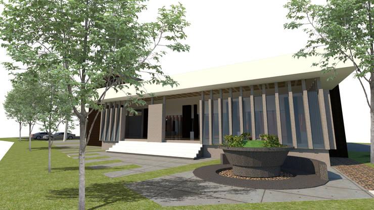 Surau:  Commercial Spaces by LI A'ALAF ARCHITECT