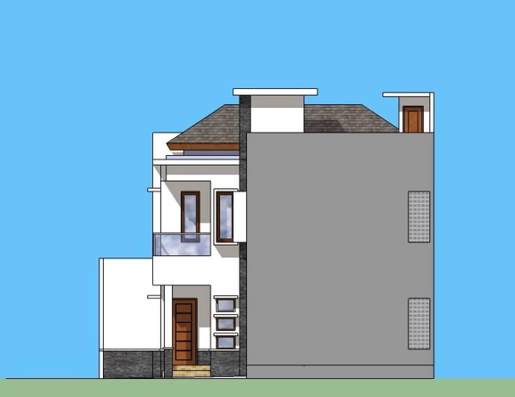 Tampak Samping:   by Amirul Design & Build