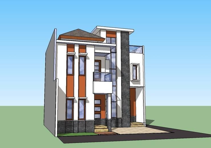 Perspektif Samping Kanan:   by Amirul Design & Build