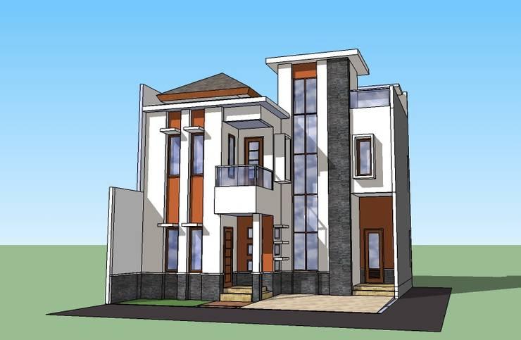 Perspektif Samping Kiri:   by Amirul Design & Build