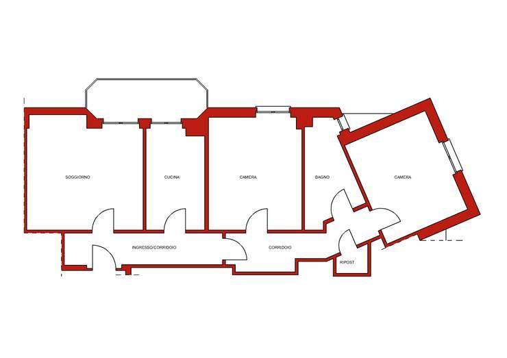 Stato di fatto di Architrek Moderno