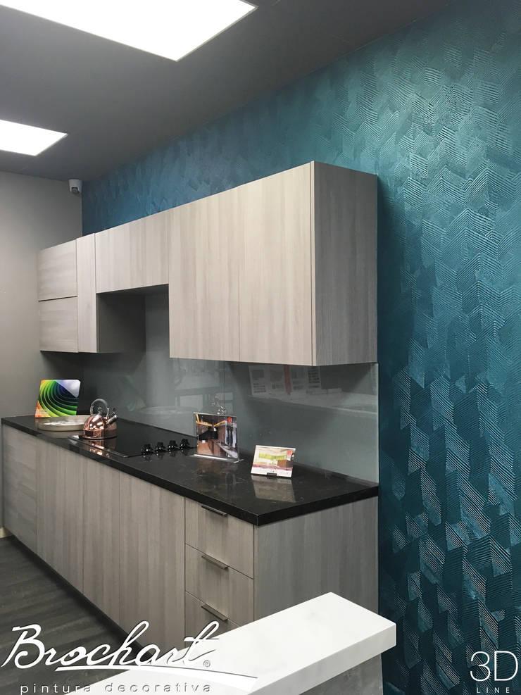 Técnica Azteca ©: Paredes y pisos de estilo moderno por Brochart pintura decorativa