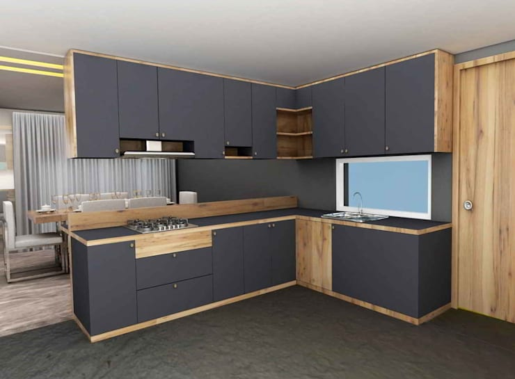 Kitchen units by Designism,