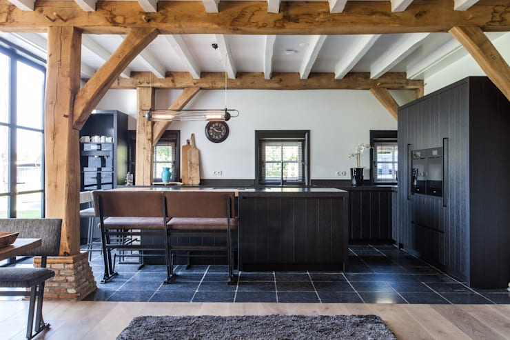 Kitchen by Bob Romijnders Architectuur & Interieur, Country