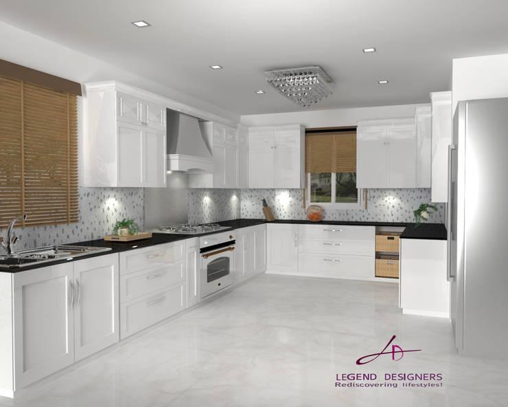 Kitchen units by Interio Grafiek, Modern