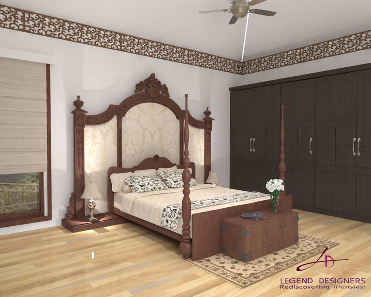 Bedroom by Interio Grafiek, Modern