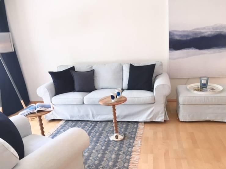 de estilo  por Münchner home staging Agentur GESCHKA, Mediterráneo