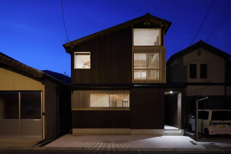 房子 by 芦田成人建築設計事務所, 田園風