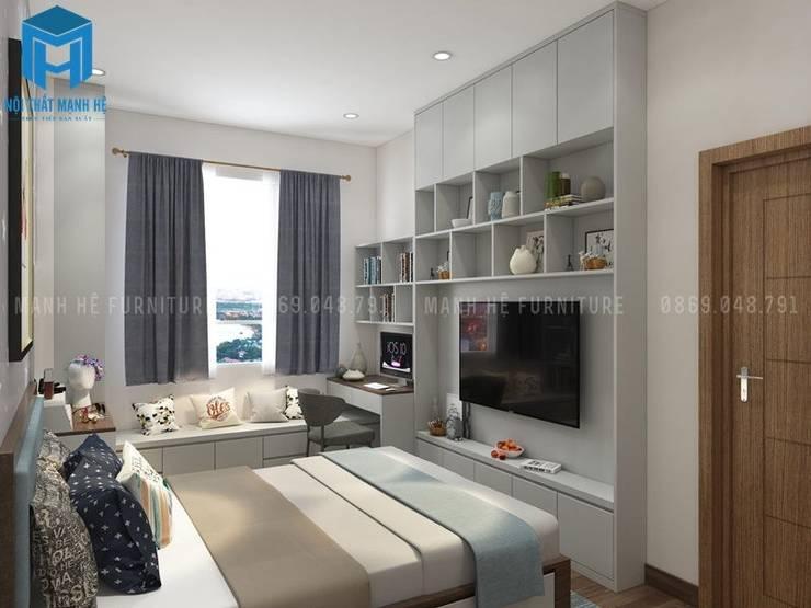 Kệ Tivi Nội Thất Phòng Ngủ 2:  Phòng khách by Công ty TNHH Nội Thất Mạnh Hệ