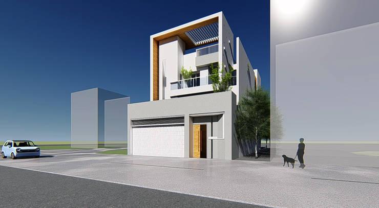 L House:  別墅 by 尋樸建築師事務所