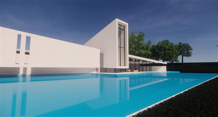 Husarö House, Altea: Villas de estilo  de MASR | Estudio de arquitectura