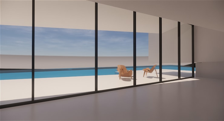 Husarö House, Altea: Salones de estilo  de MASR | Estudio de arquitectura
