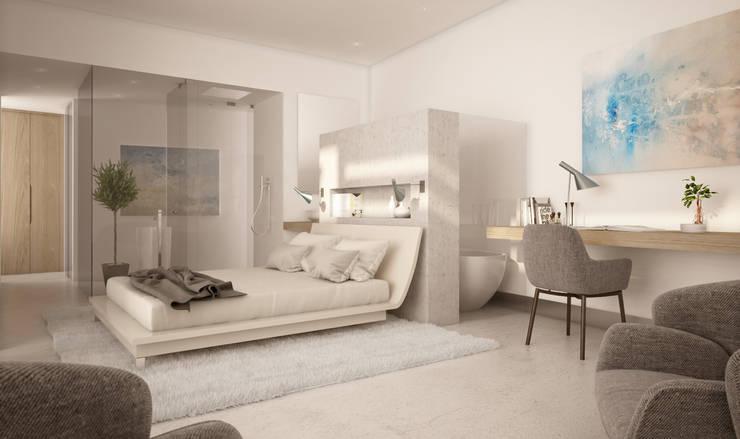 غرفة نوم تنفيذ AVANTUM