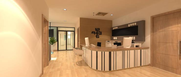 งานตกแต่งภายใน ACRO Ward Center:  ตกแต่งภายใน by raintree design studio