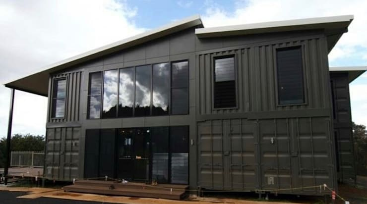 Casas en Contenedores Marítimos:  de estilo  por WORLD CONTAINER COLOMBIA