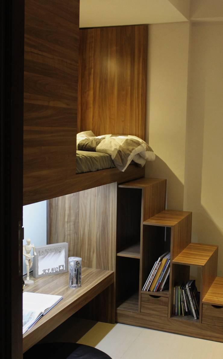 Teen bedroom by POWL Studio,