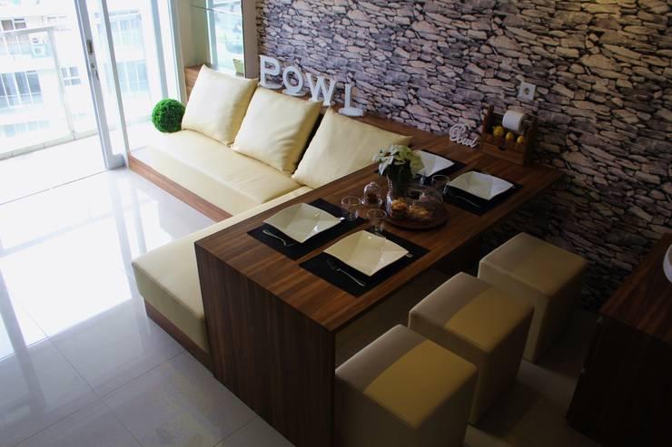 Dining room by POWL Studio