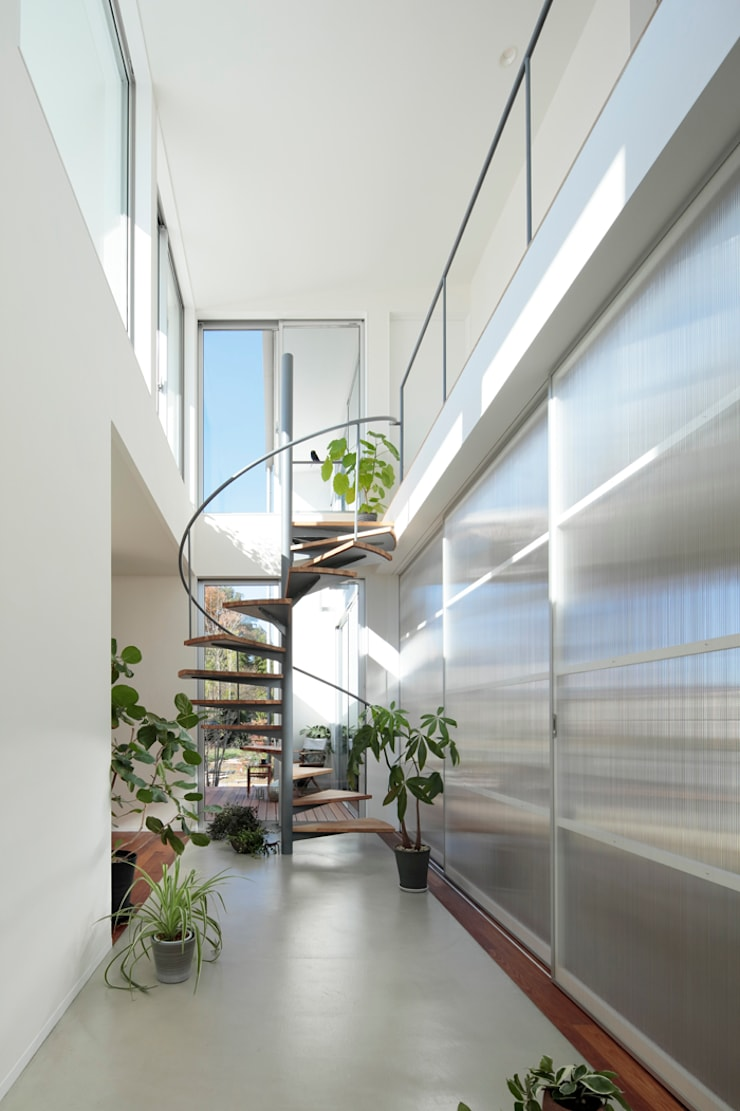 走廊 & 玄關 by arc-d, 現代風