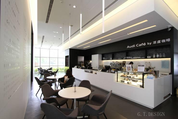 Audi cafe:  辦公室&店面 by G.T. DESIGN 大楨室內裝修有限公司
