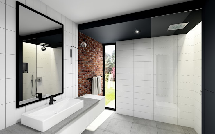 Bathroom by Offa Studio, Modern