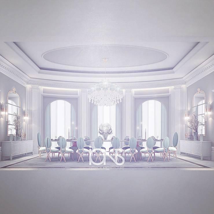 Столовые комнаты в . Автор – IONS DESIGN, Классический Мрамор