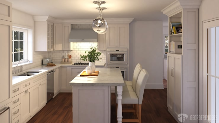 Rendering of Kitchen Design:   by GeorgeRenders LLC