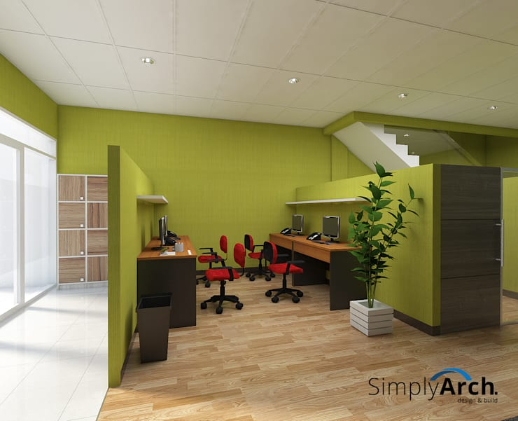 Offices & stores by Simply Arch.,