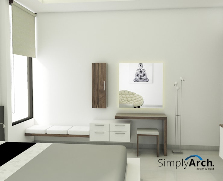 Make Up Table + Storage and Zen Seating Oleh Simply Arch.