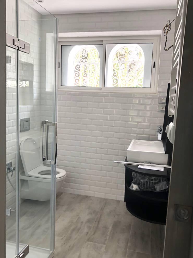 mediterranean Bathroom by B.A-Studio