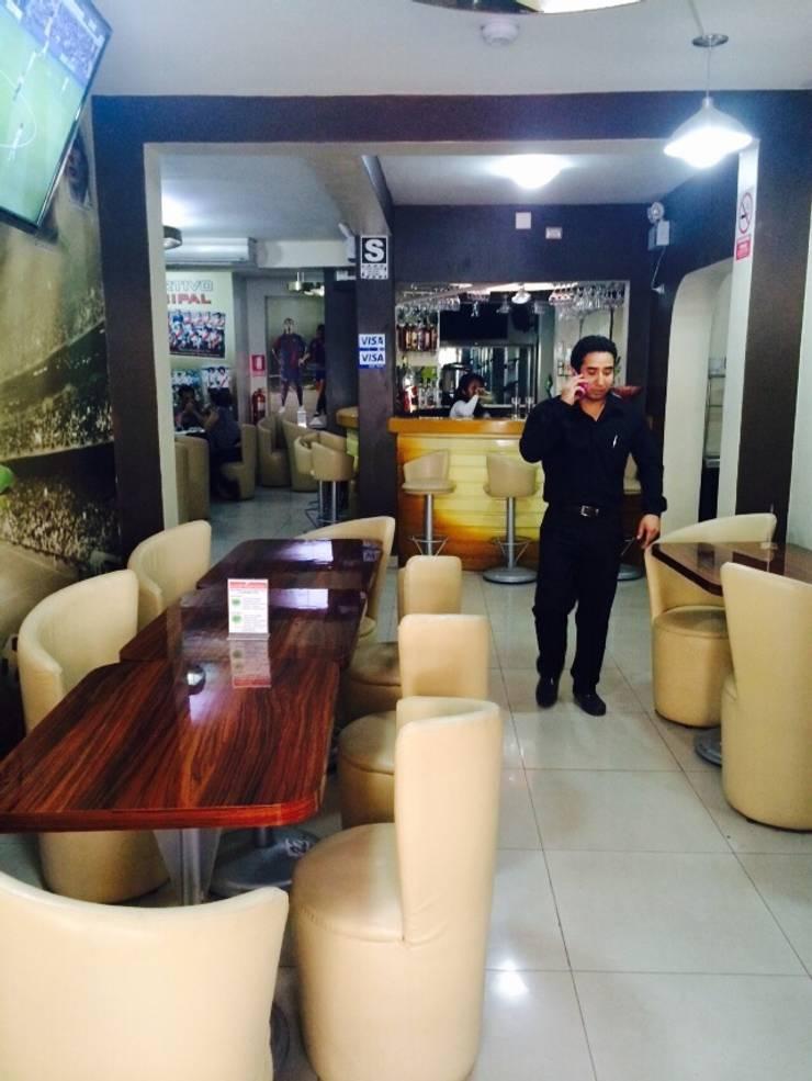 Bar Deportivo de Diseño & Estilo Tropical