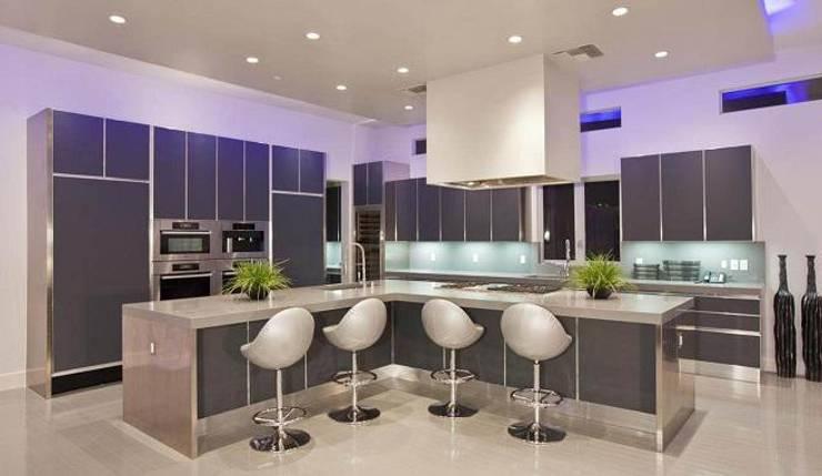 Cocina Moderna de Diseño & Estilo Moderno