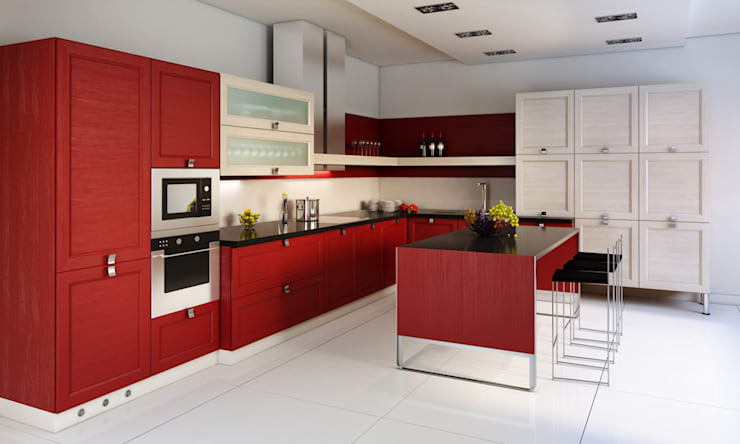 Built-in kitchens by Diseño & Estilo