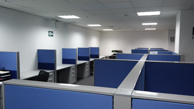 Mobiliario Modular: Oficinas de estilo  por RW arquitectos SAC