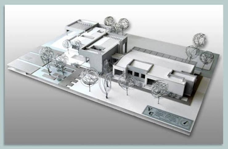 Maqueta: Casas unifamiliares de estilo  por R-Innovare