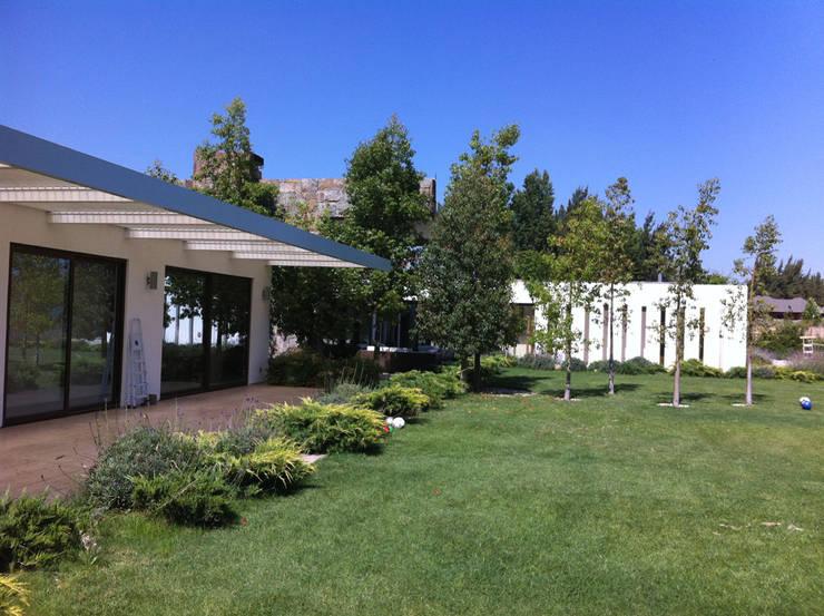 Terraza: Casas unifamiliares de estilo  por R-Innovare