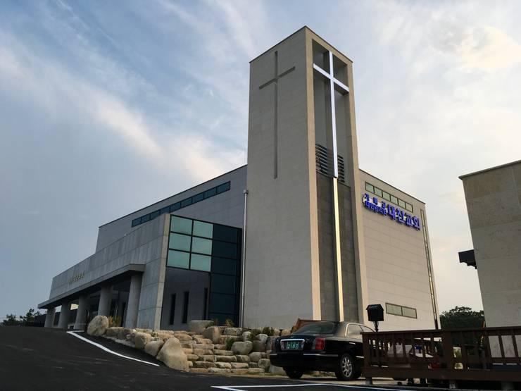 대진교회: 건축사사무소 이레EL의  ,
