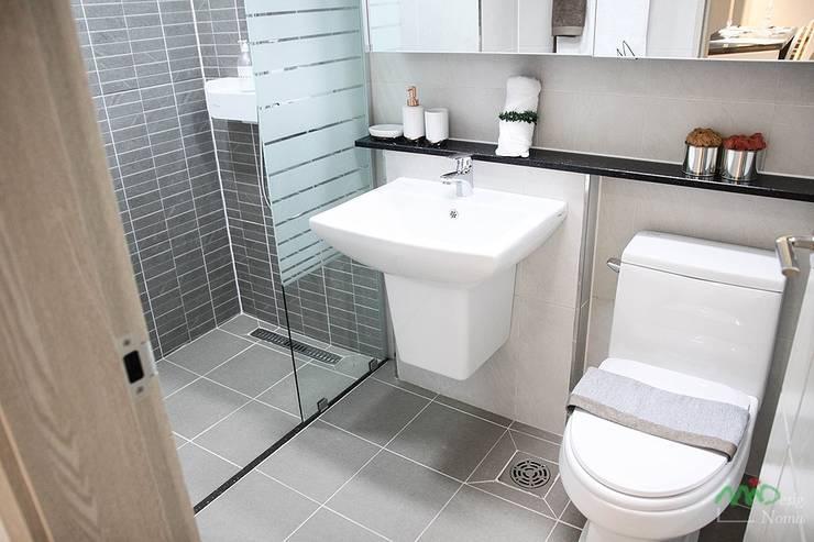 부산 모델하우스 세팅, 낭만적인 클래식스타일 – 노마드디자인 : 노마드디자인 / Nomad design의  욕실