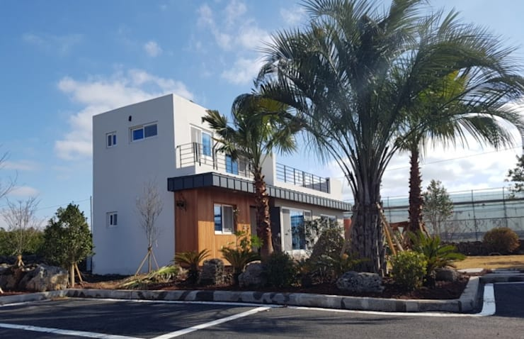 제주 남원읍 위미리 단독주택 단지: 건축사사무소 이레EL의