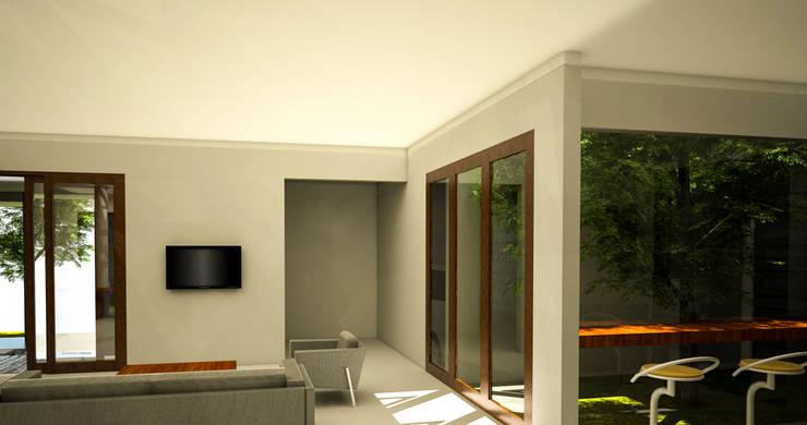 Soggiorno in stile  di AIGI Architect + Associates