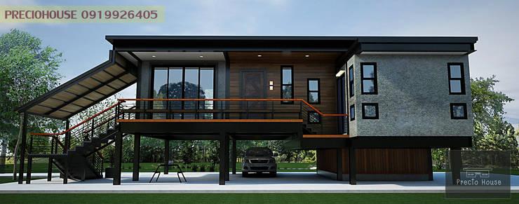 บ้านพักตากอากาศริมคลอง:   by PRECIO HOUSE