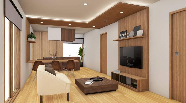 Design di interni per zona giorno a milano for Studio design interni milano