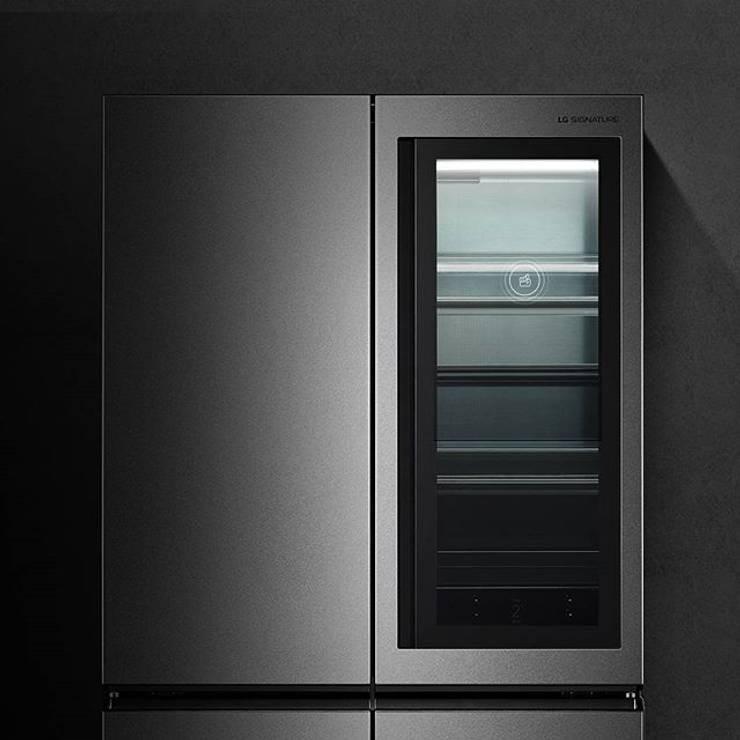 NEVECON LG SIGNATURE LM88SXM: Cocina de estilo  por LG SIGNATURE