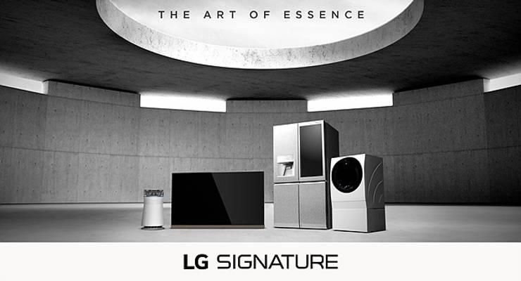 LG SIGNATURE: Hogar de estilo  por LG SIGNATURE