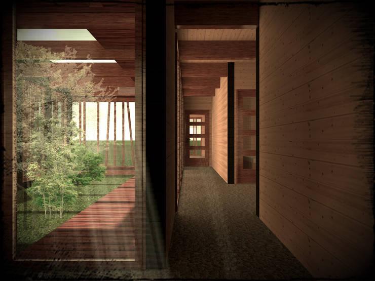 Casas prefabricadas de estilo  por Vicente Espinoza M. - Arquitecto