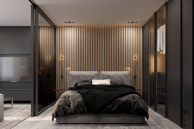 Cuartos de estilo minimalista de U-Style design studio Minimalista