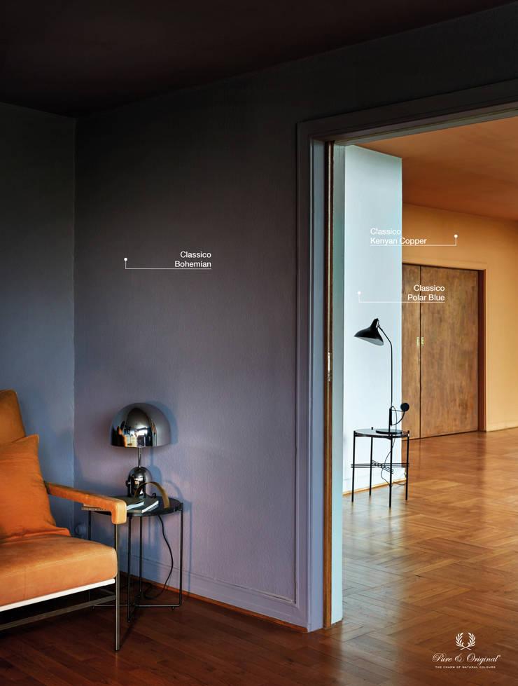 Phòng khách theo Pure & Original, Chiết trung