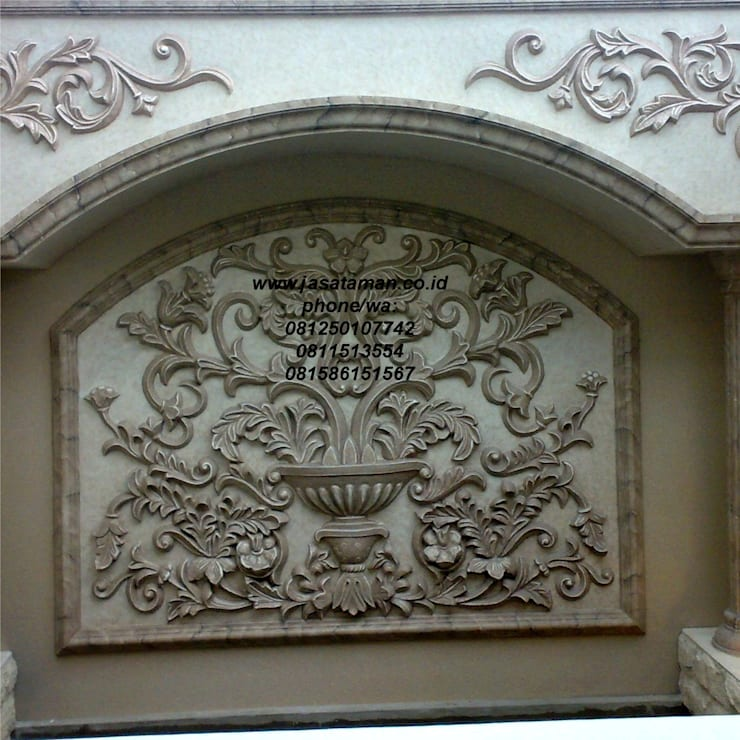 Taman relief dekorasi surabaya jawa timur IV:  Garden  by TUKANG TAMAN SURABAYA - jasataman.co.id