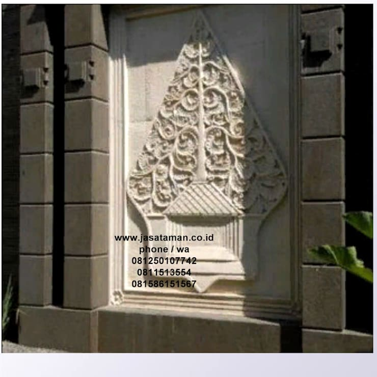 Taman relief dekorasi surabaya jawa timur VI:  Garden  by TUKANG TAMAN SURABAYA - jasataman.co.id
